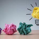 thinking lightbulb